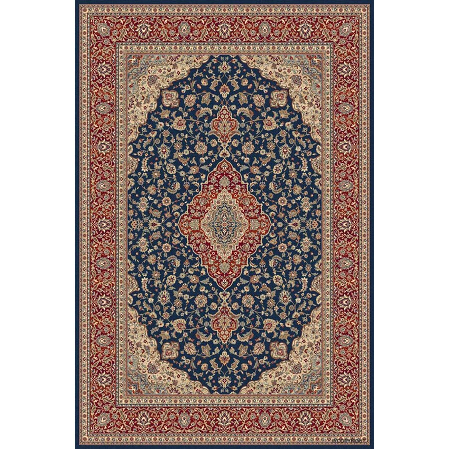 Balta Traditional-Odyssey 3-ft 11-in x 5-ft 6-in Rectangular Blue Transitional Area Rug