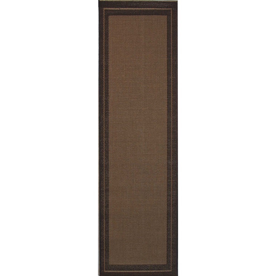 Balta Decora Rectangular Indoor and Outdoor Woven Throw Rug (Common: 2 x 5; Actual: 24-in W x 59-in L)