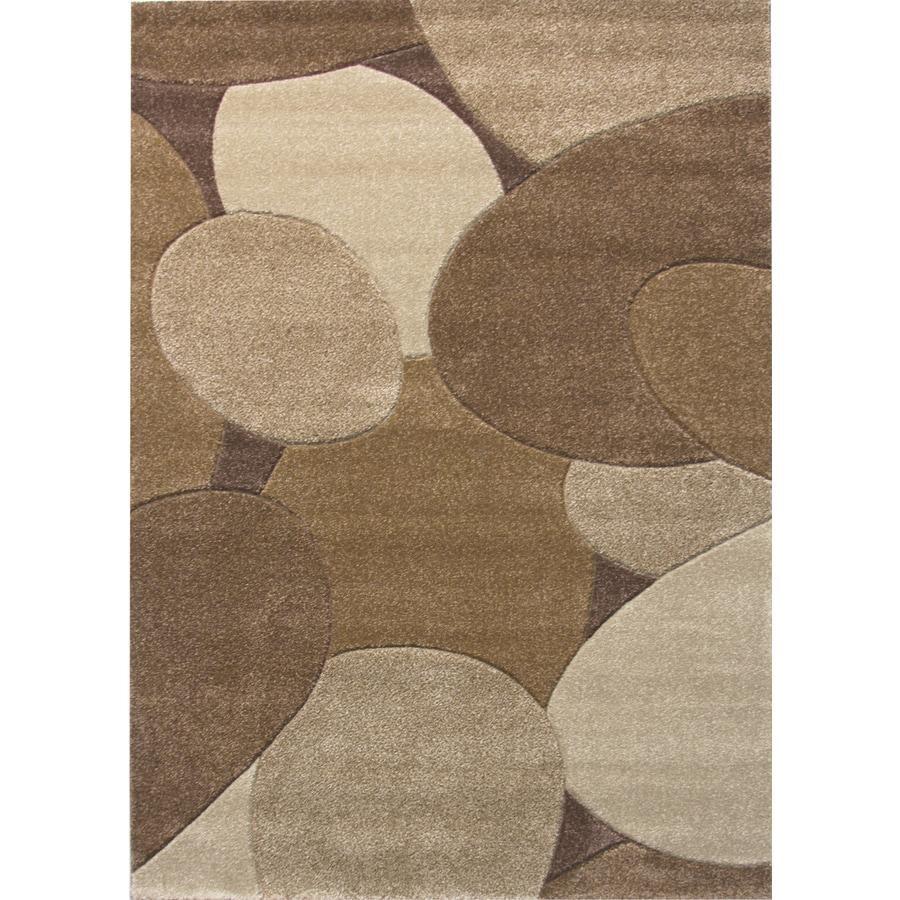 Balta Hand Carved-Riverbed Rectangular Indoor Woven Area Rug (Common: 5 x 7; Actual: 63-in W x 87-in L)