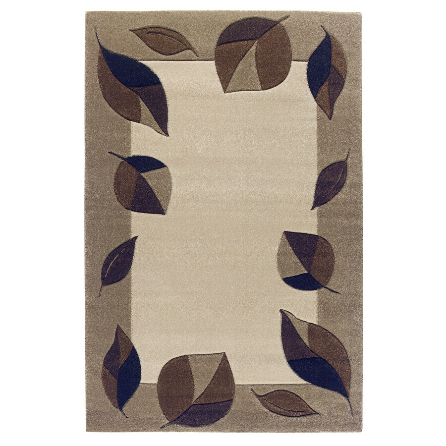 Balta Hand Carved-Vermont Rectangular Indoor Woven Area Rug (Common: 4 x 6; Actual: 47-in W x 66-in L)