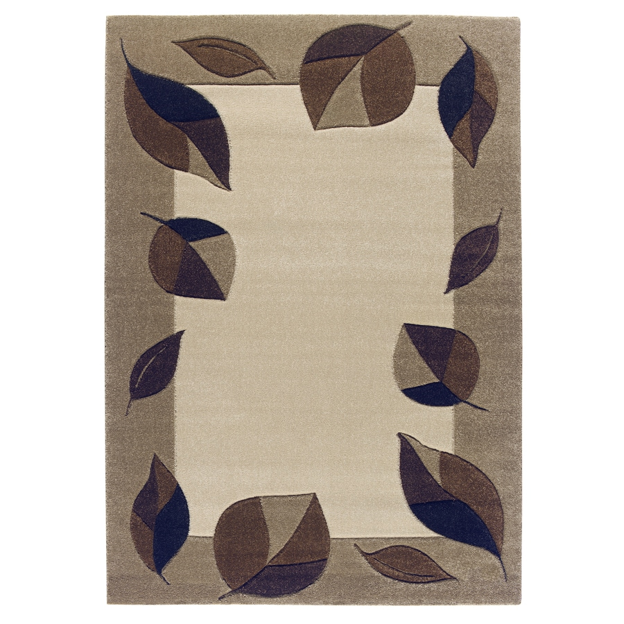 Balta Hand Carved-Vermont Rectangular Indoor Woven Area Rug (Common: 5 x 8; Actual: 63-in W x 87-in L)