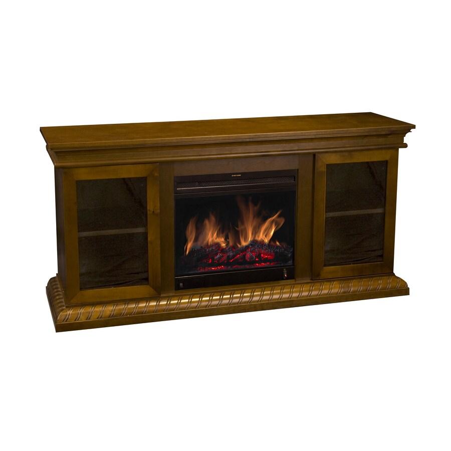 Shop Estate Design Oakdale Fireplace Media Cabinet W 18 Insert At