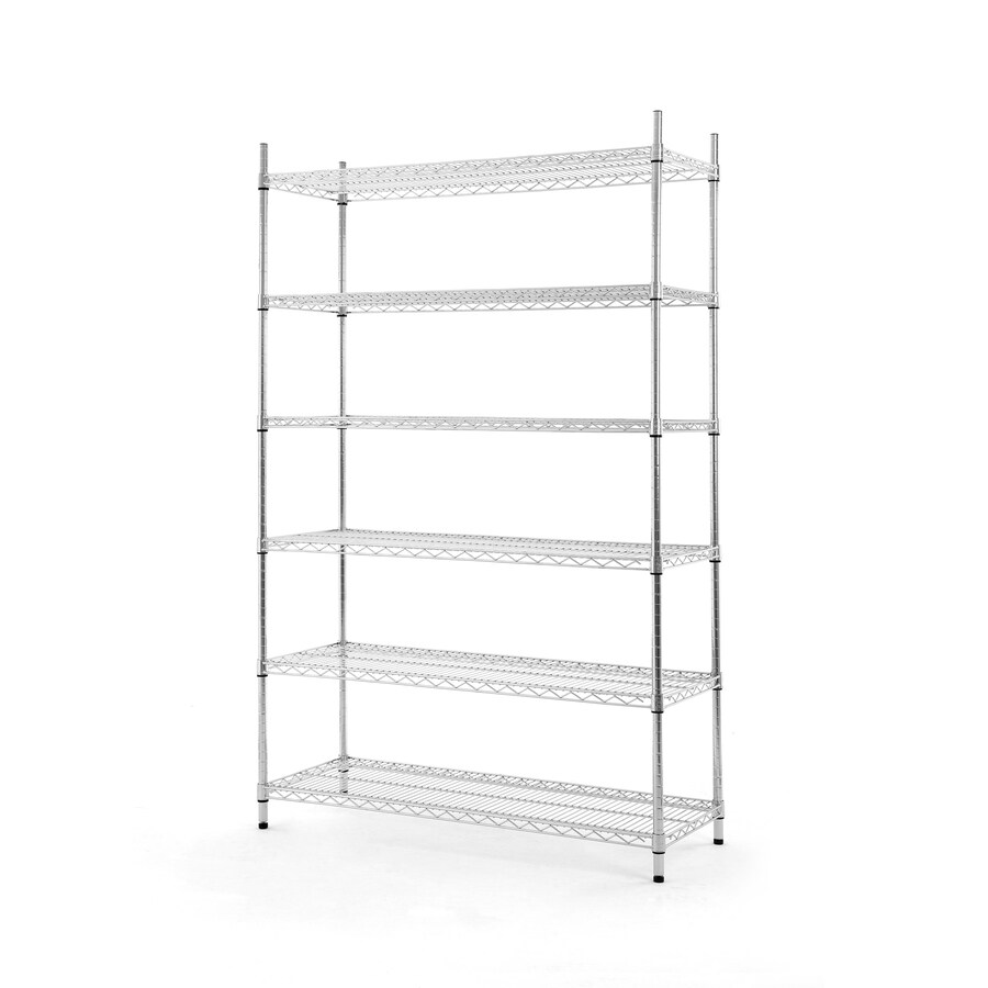 Style Selections 4-ft x 18-in Chrome Wire Shelf