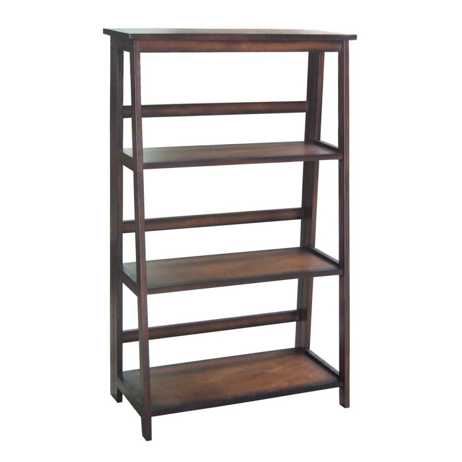 Real Organized 49-in H x 30.25-in W x 15-in D 3-Tier Wood Freestanding Shelving Unit