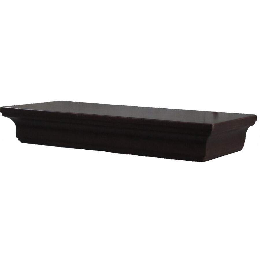 allen + roth 18-in Wood Wall Mounted Shelving
