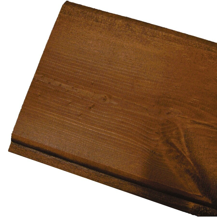 Shop Woodtone Realsoffit Tongue And Groove Pattern Stock