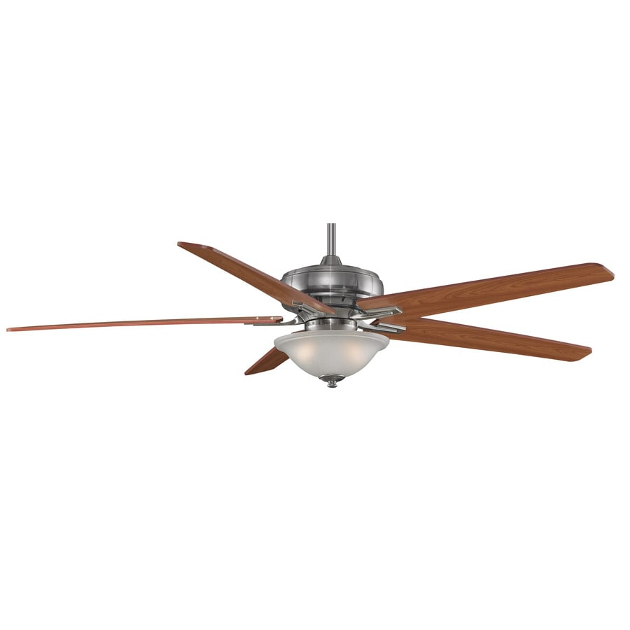 Fanimation Keistone 72-in Bronze Downrod Mount Indoor Ceiling Fan with Light Kit and Remote