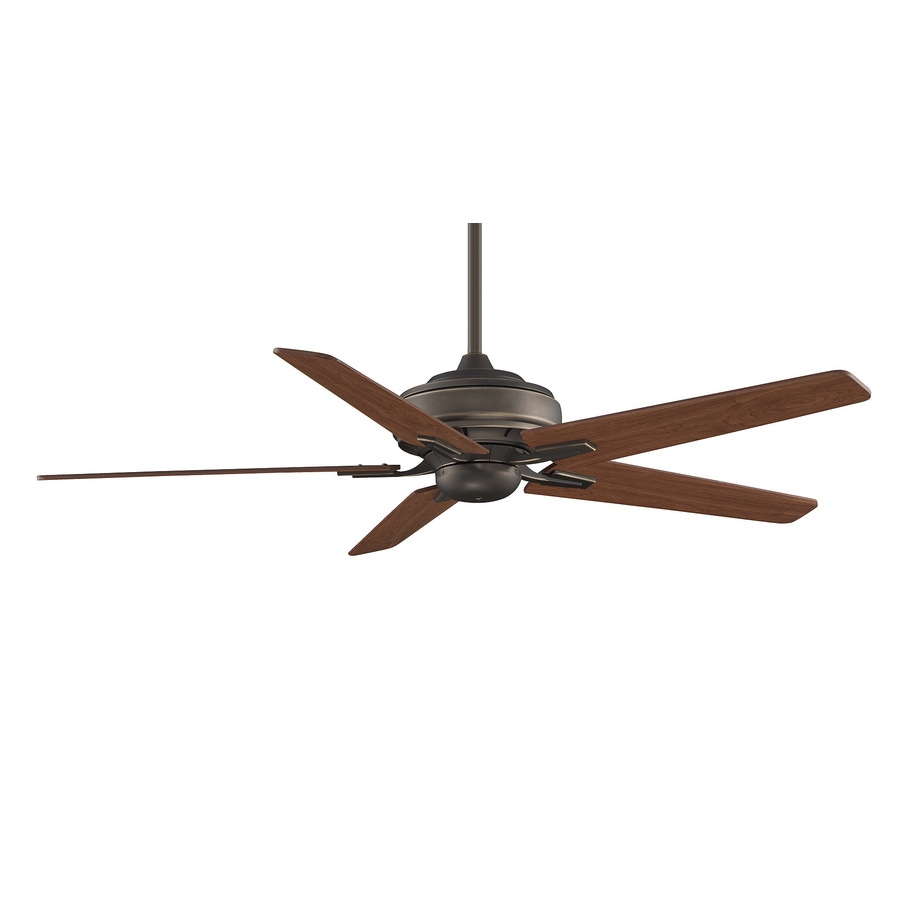 Fanimation Keistone 72-in Pewter Downrod Mount Indoor Ceiling Fan with Light Kit and Remote