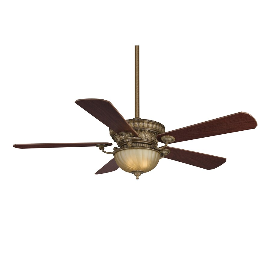 Fanimation Marea 42-in Satin Nickel Downrod Mount Indoor Ceiling Fan with Remote (1-Blade)