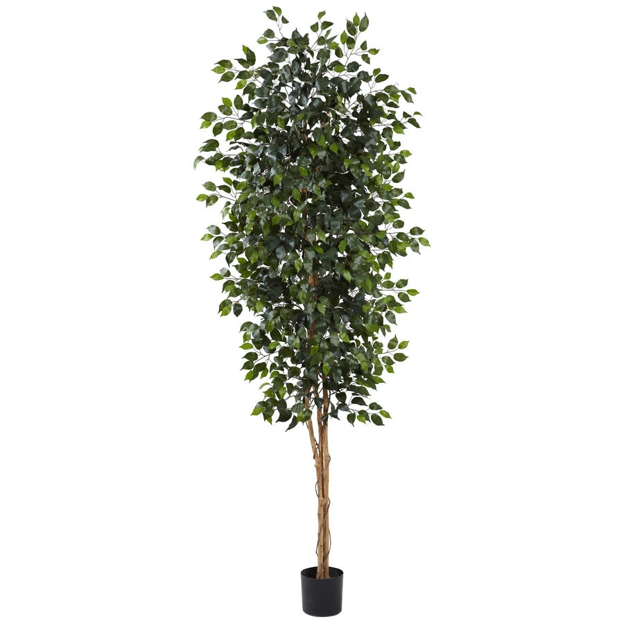 Nearly Natural 96-in Green Silk Tree
