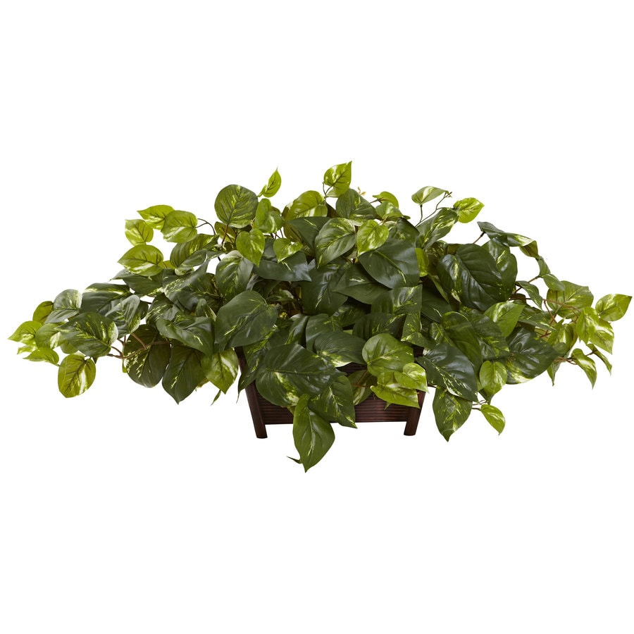 Nearly Natural 16-in Green Silk Plant