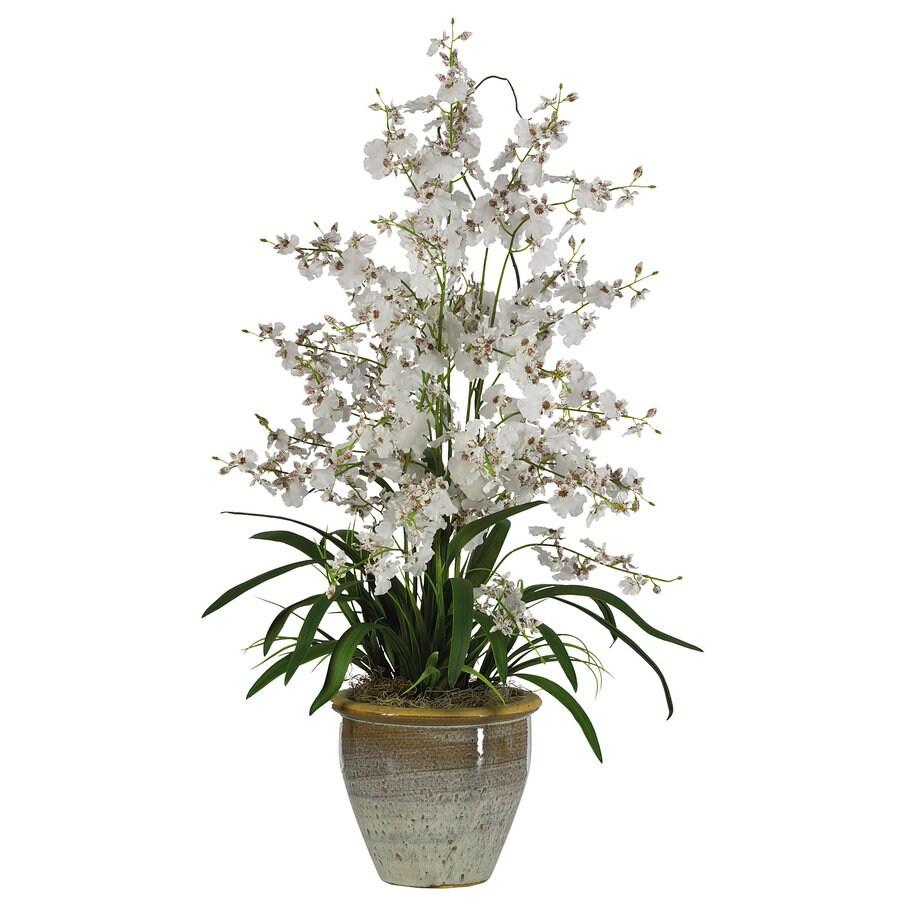 Nearly Natural 32-in White Silk Arrangement