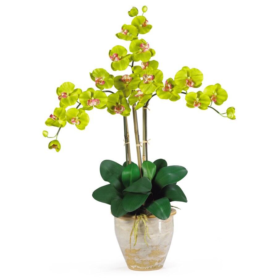 Nearly Natural 27-in Green Silk Arrangement