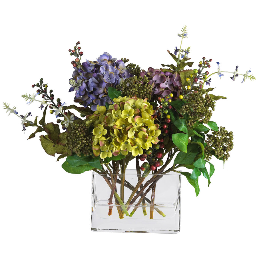 Nearly Natural 12-in Mixed Silk Arrangement