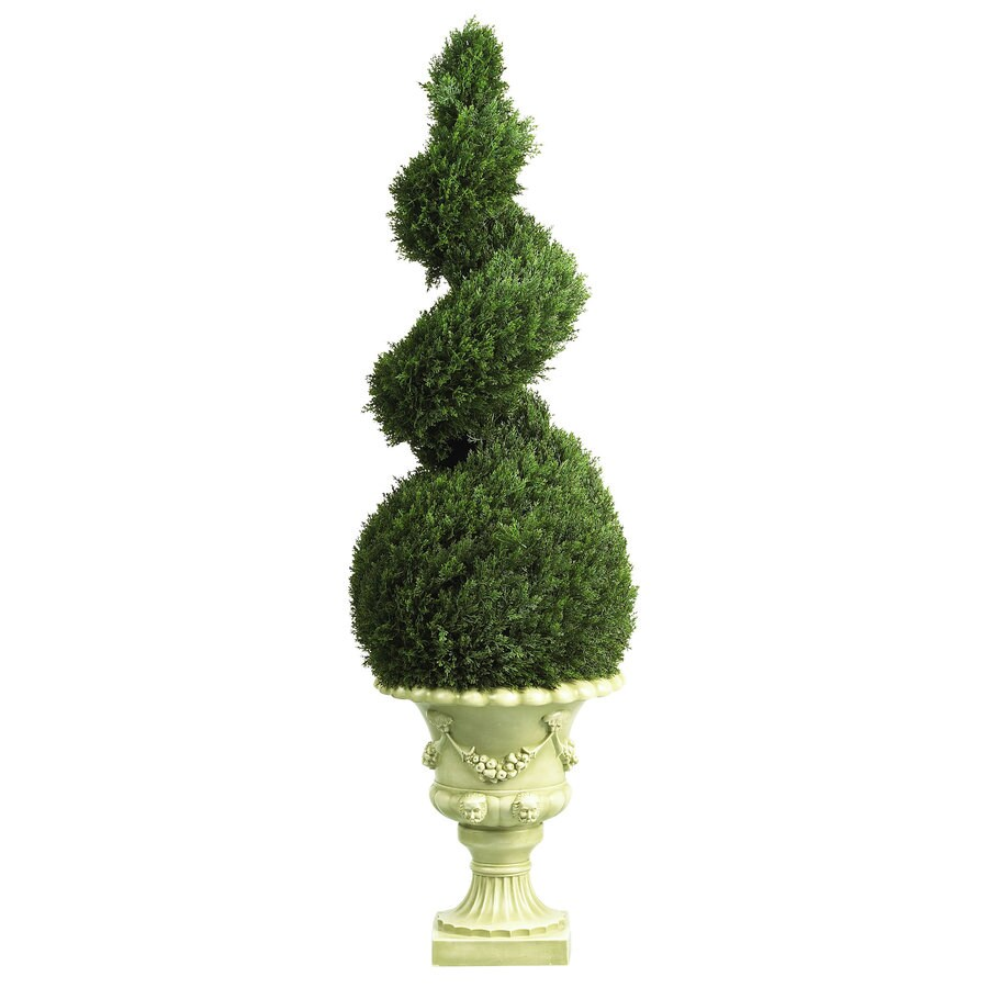 Nearly Natural 48-in Green Silk Tree