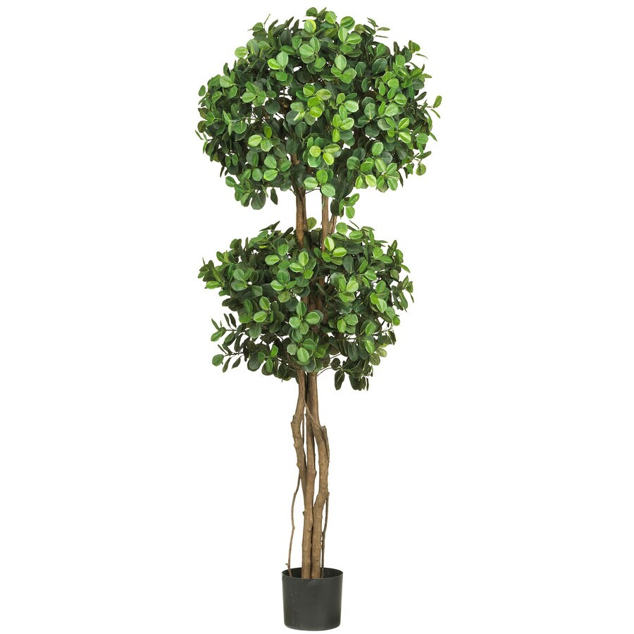 Nearly Natural 66-in Green Silk Tree