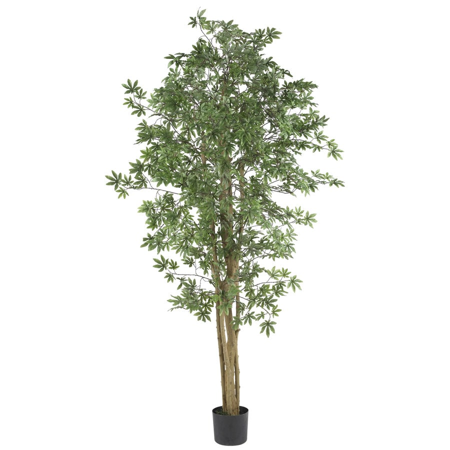 Nearly Natural 72-in Green Silk Tree