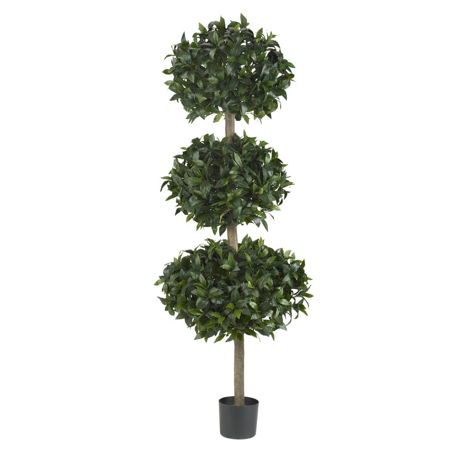 Nearly Natural 69-in Green Silk Tree