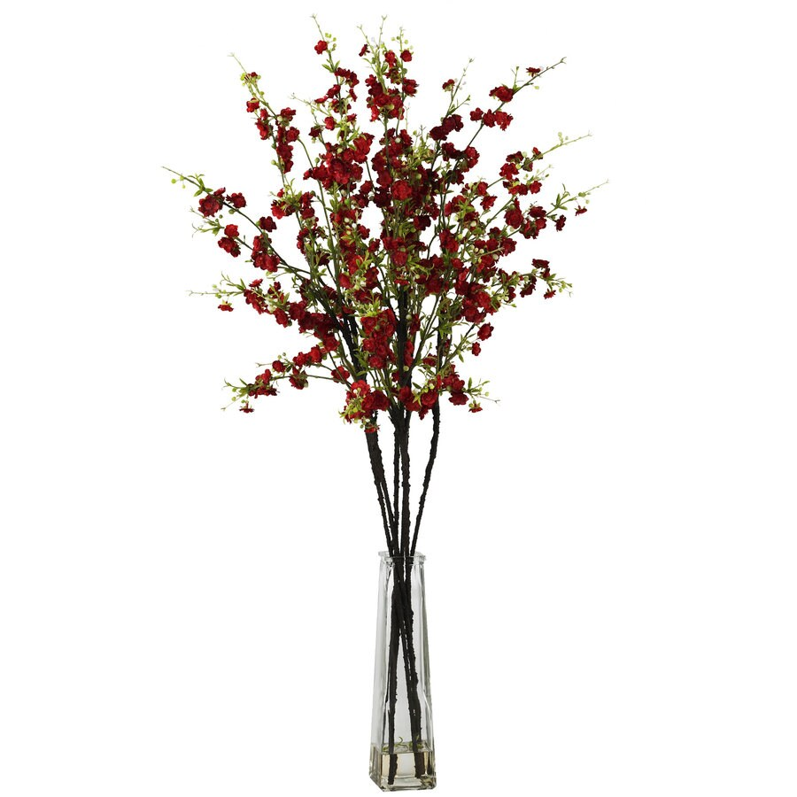 Nearly Natural 38-in Red Silk Arrangement