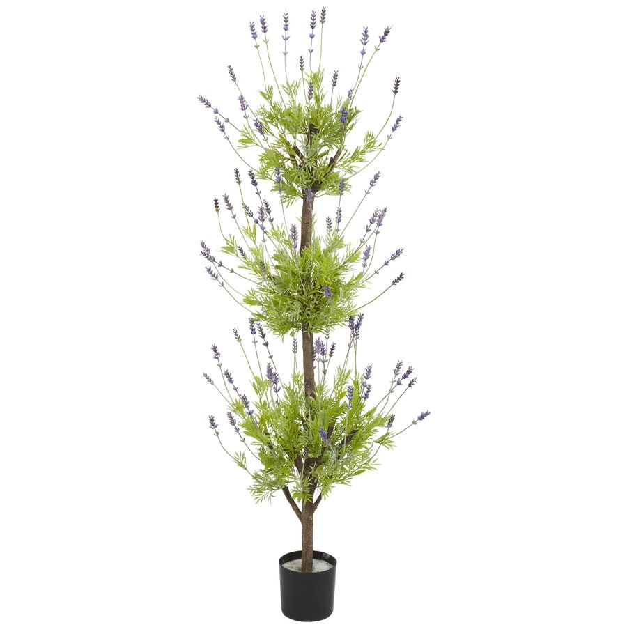Nearly Natural 48-in Lavender Silk Tree