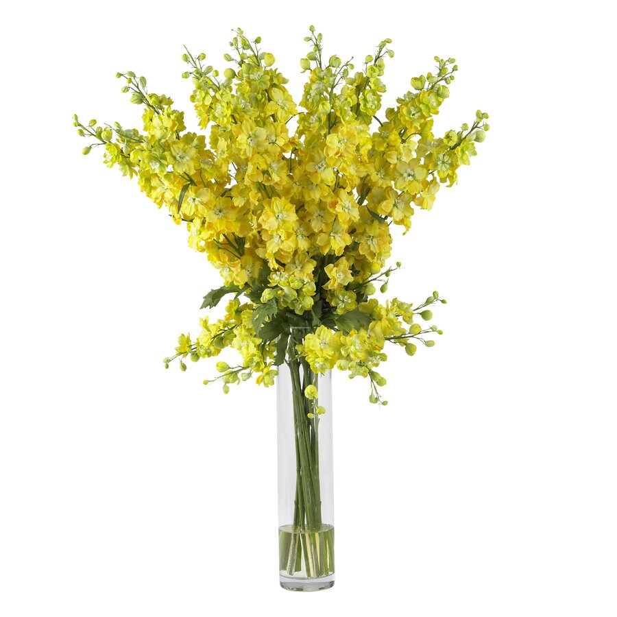 Nearly Natural 38-in Yellow Silk Arrangement