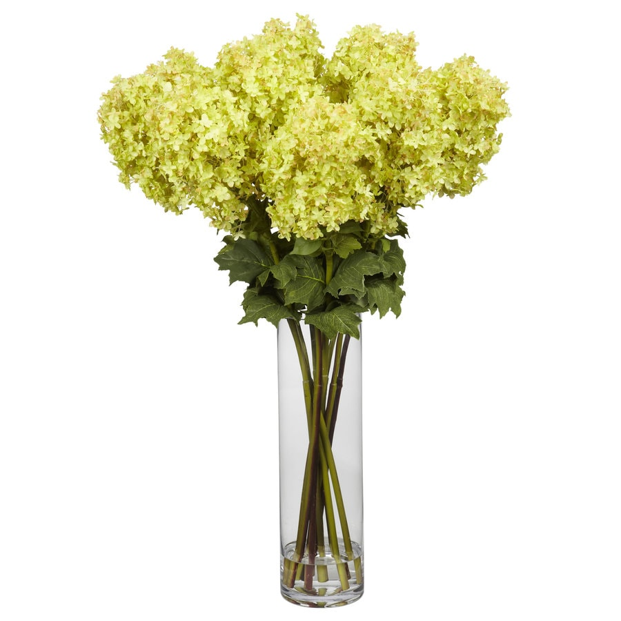 Nearly Natural 40-in Yellow Silk Arrangement