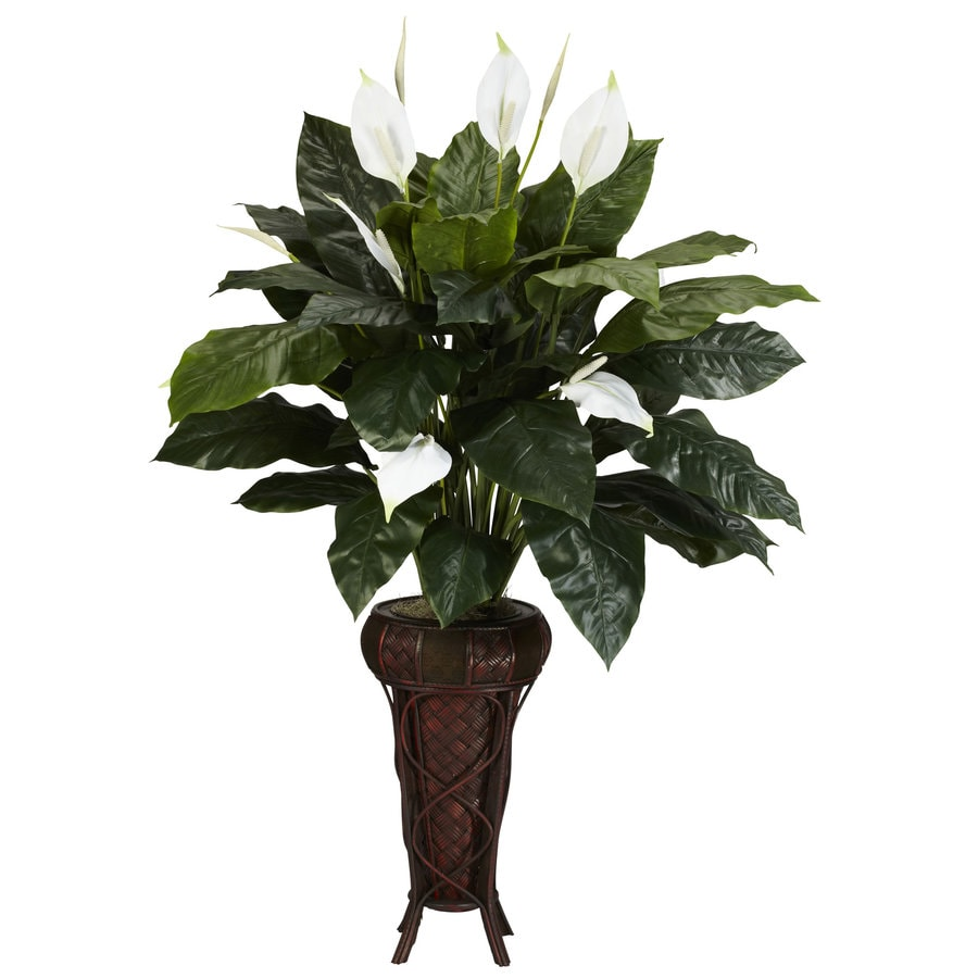 Nearly Natural 57-in Green Silk Plant
