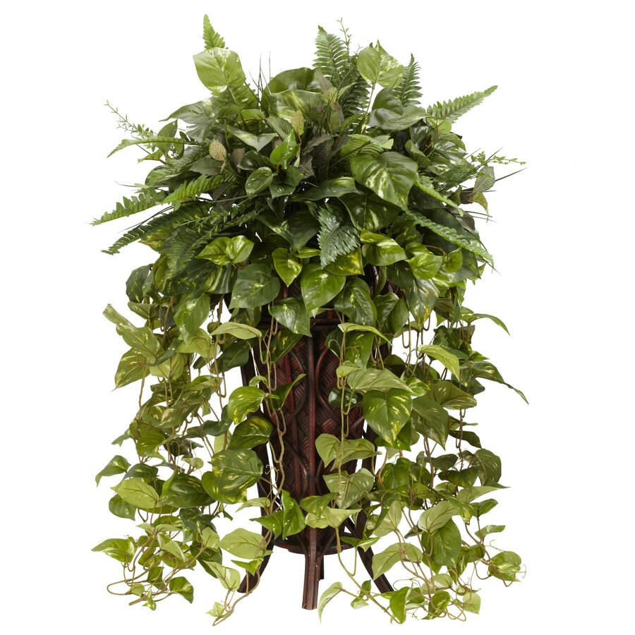 Nearly Natural 36-in Green Silk Plant
