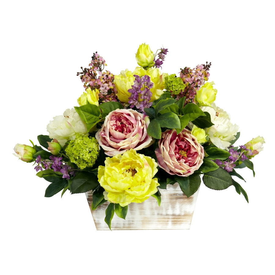 Nearly Natural 17-in Assorted Silk Arrangement