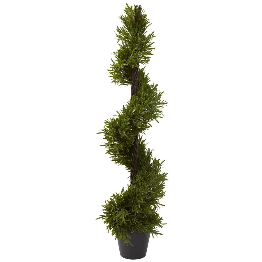 Nearly Natural 39-in Green Silk Tree