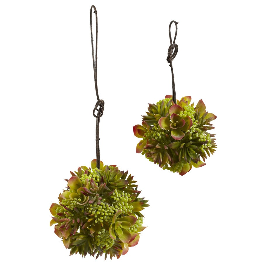 Nearly Natural 7-in Green Accessory