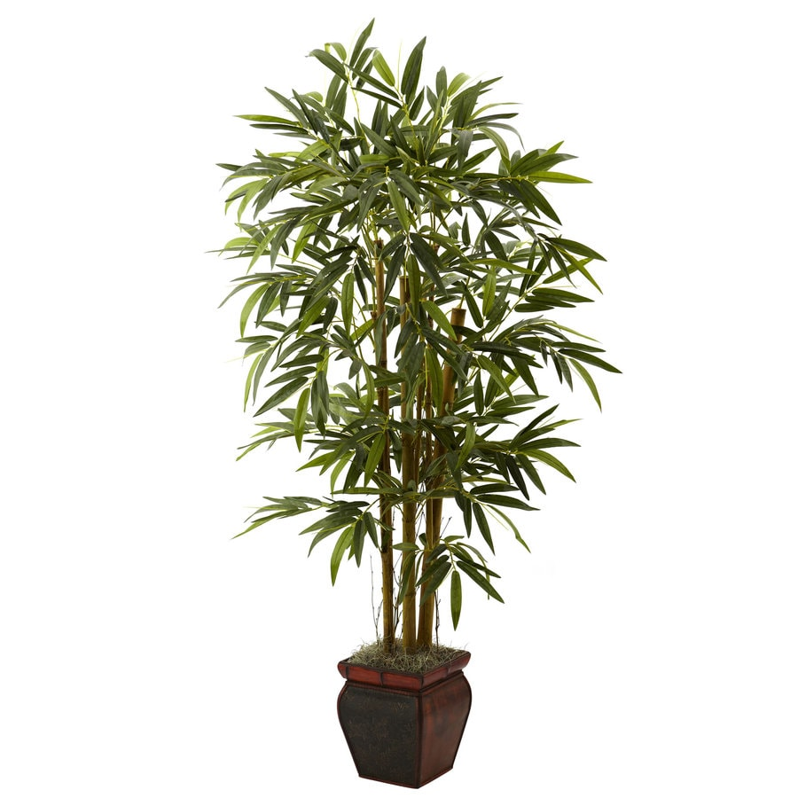 Shop nearly natural 66 in green silk tree at for Artificial plants for decoration