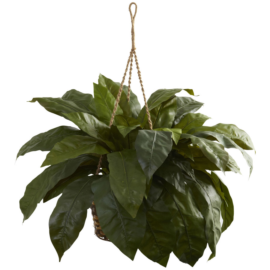 Nearly Natural 28-in Green Silk Plant