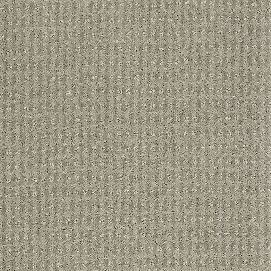 STAINMASTER St John Active Family Moonstruck Cut and Loop Carpet Sample