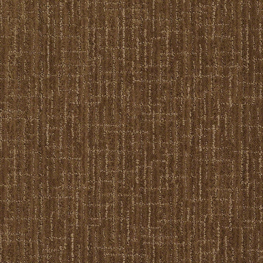 STAINMASTER Unquestionable Active Family Almond Crunch Cut and Loop Carpet Sample