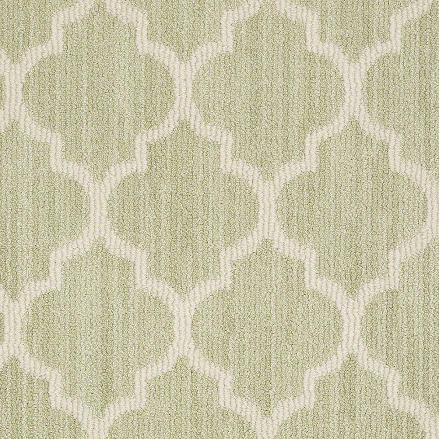 STAINMASTER Rave Review Active Family Glen Green Berber Carpet Sample