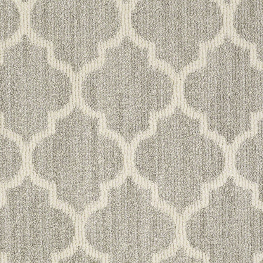 STAINMASTER Rave Review Active Family Misty Dawn Berber Carpet Sample