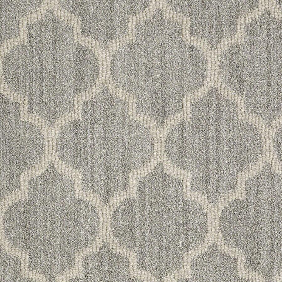 STAINMASTER Rave Review Active Family Silverado Berber Carpet Sample