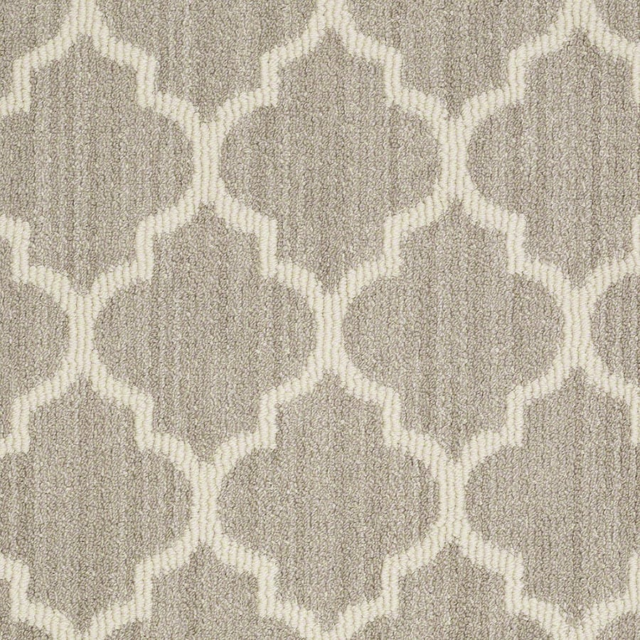 STAINMASTER Rave Review Active Family Plaza Taupe Berber Carpet Sample