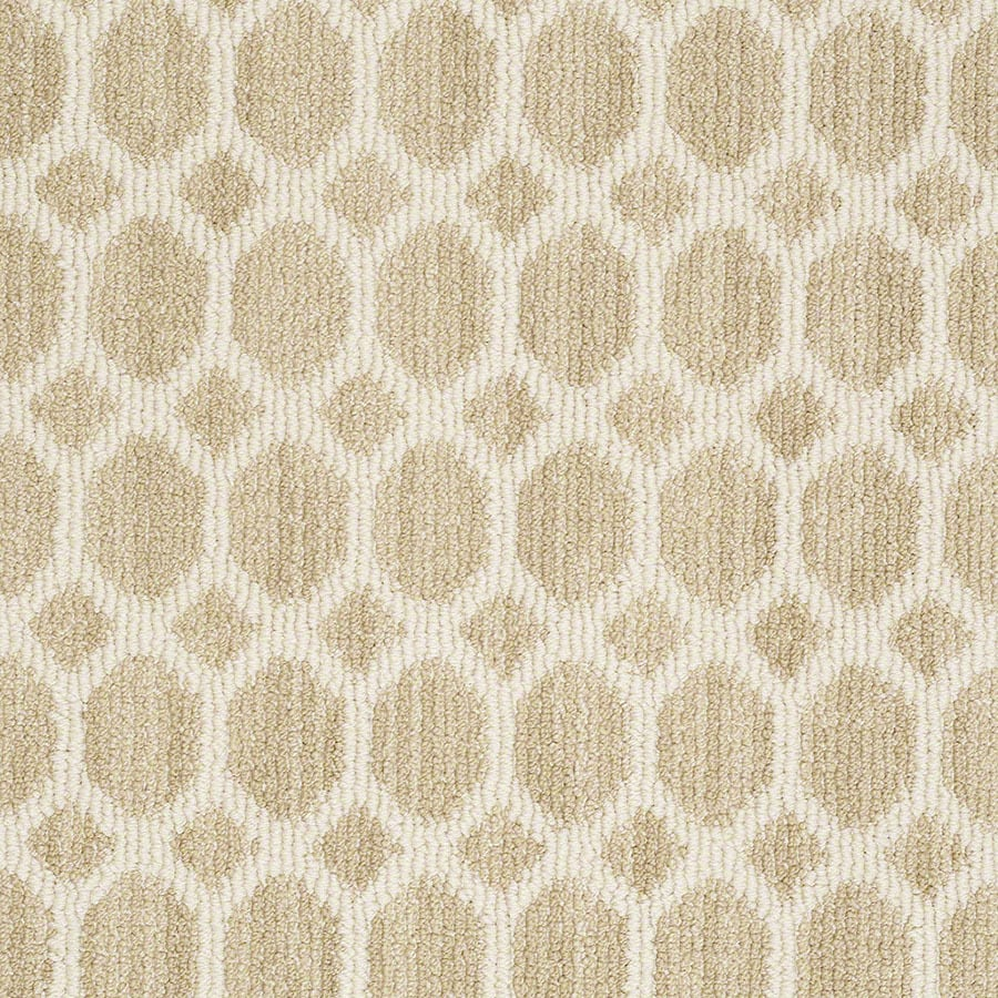 STAINMASTER All The Rage Active Family Butternut Berber Carpet Sample