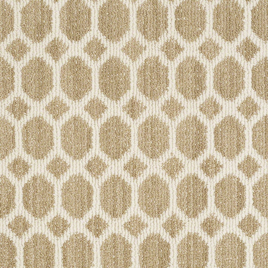 STAINMASTER All The Rage Active Family Desert Tan Berber Carpet Sample