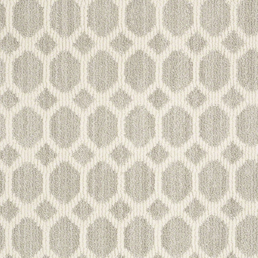 STAINMASTER All The Rage Active Family Misty Dawn Berber Carpet Sample