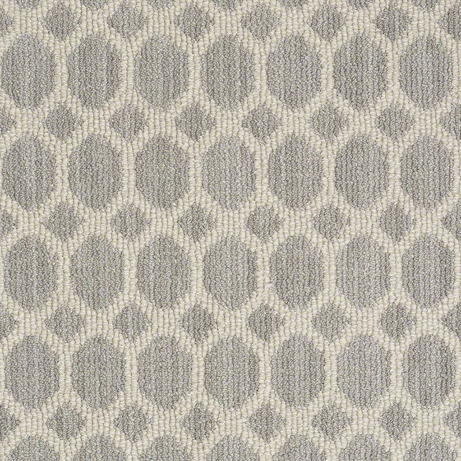 STAINMASTER All The Rage Active Family Silverado Berber Carpet Sample