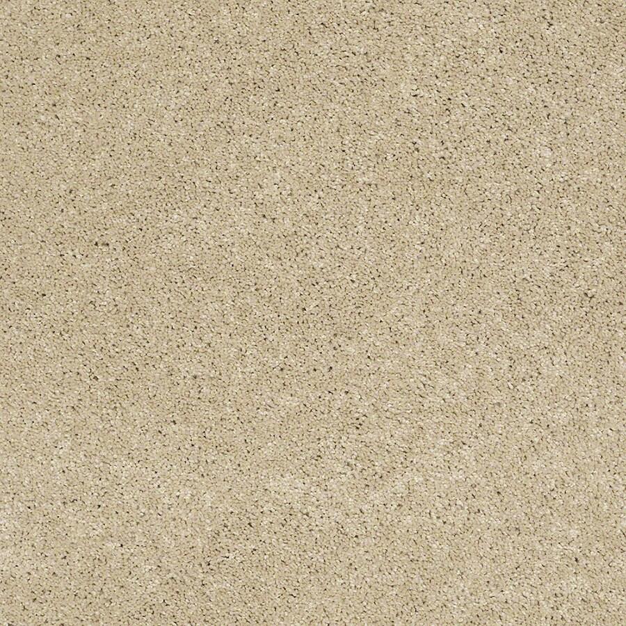 STAINMASTER Luscious IV (S) TruSoft Parchment Plus Carpet Sample