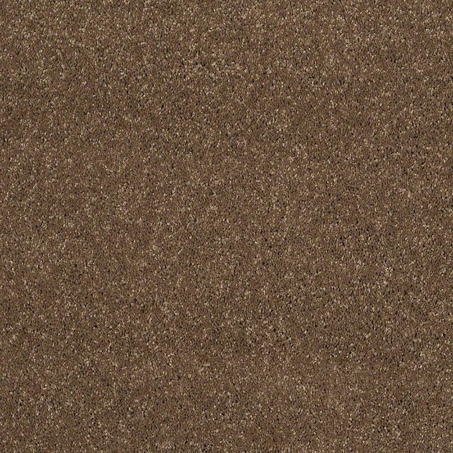 STAINMASTER Luscious IV (S) TruSoft Chestnut Plus Carpet Sample