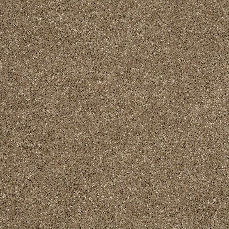 STAINMASTER Luscious IV (S) TruSoft Cobblestone Plus Carpet Sample