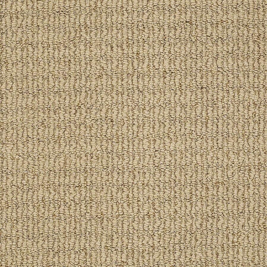 STAINMASTER Uneqivocal Trusoft Rose Gold Berber Carpet Sample