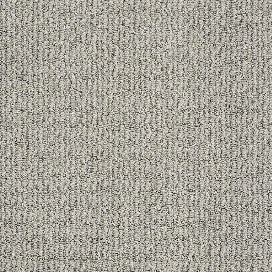 STAINMASTER Uneqivocal Trusoft Shale Berber Carpet Sample