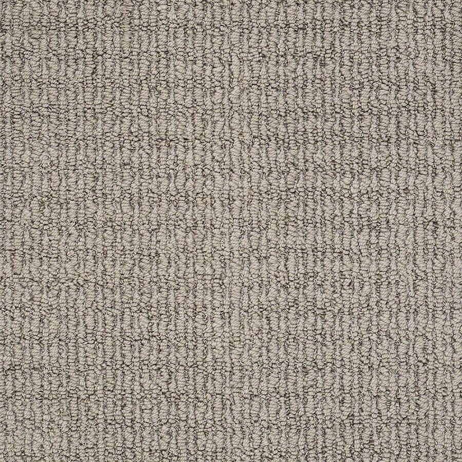 STAINMASTER Uneqivocal Trusoft Varnished Berber Carpet Sample