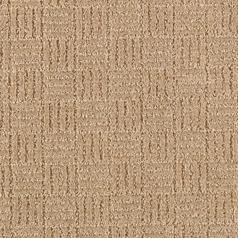 STAINMASTER Stylesboro Essentials Flaxen Cut and Loop Carpet Sample